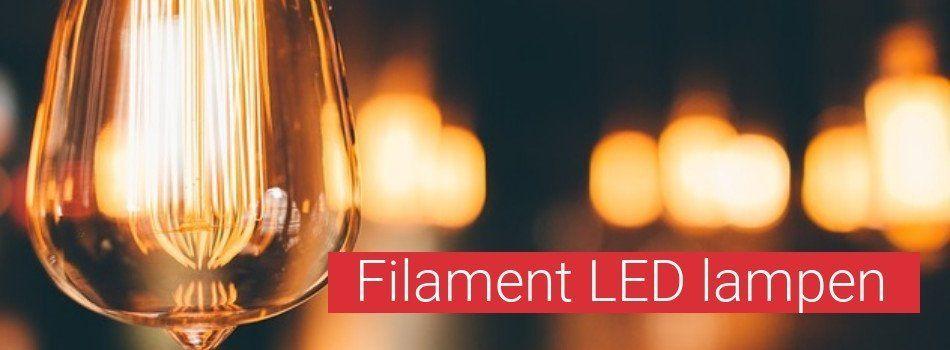Filament LED lampen