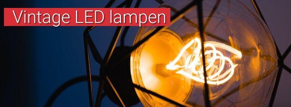 Vintage LED lampen