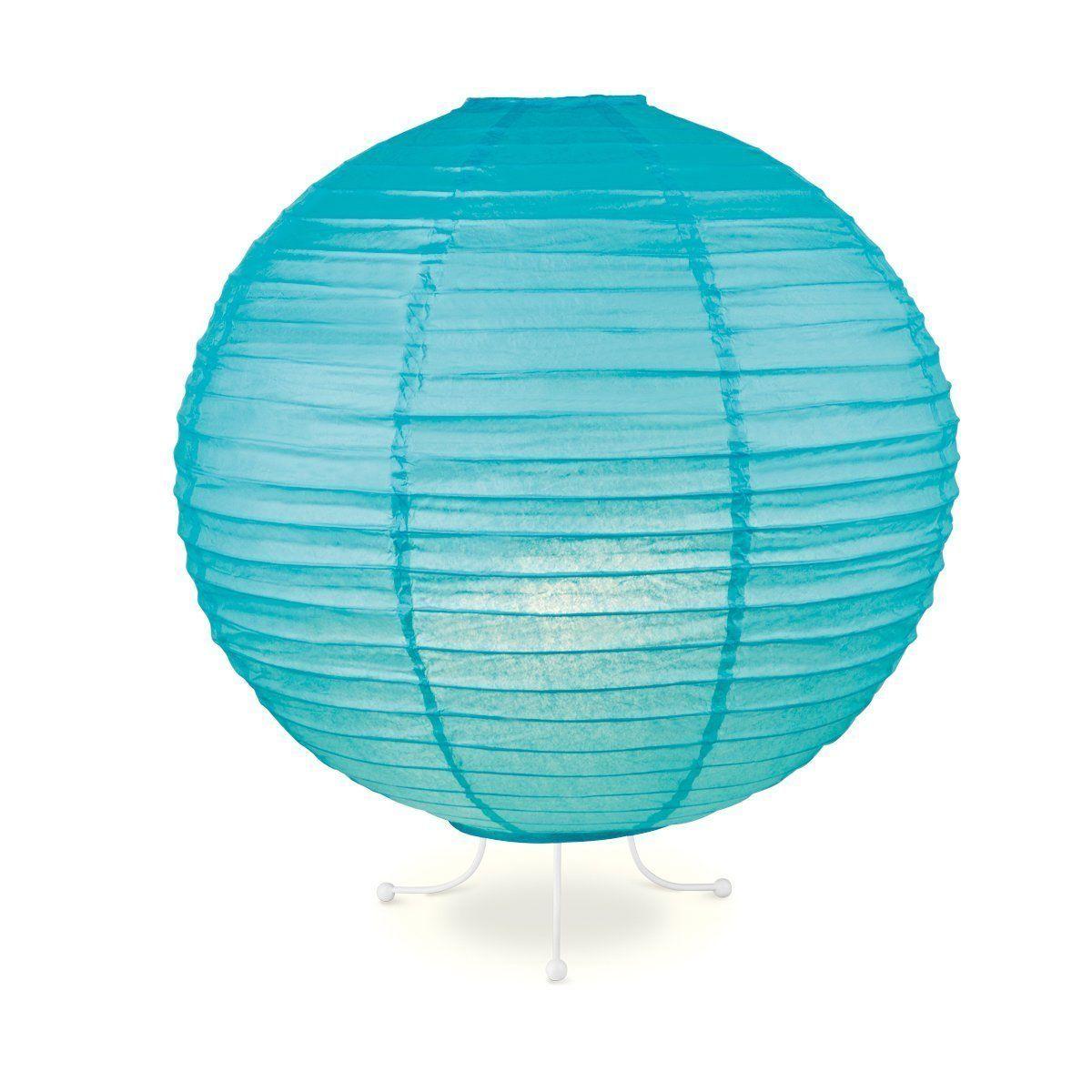 Home Sweet Home lampenkap Lampion 40 cm blauw