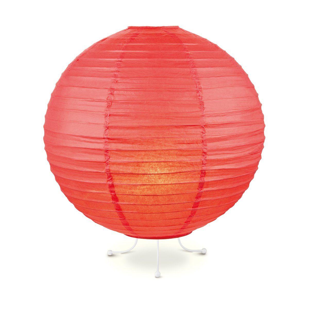 Home Sweet Home lampenkap Lampion 40 cm rood
