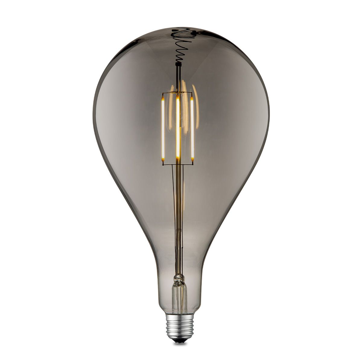 Light depot LED lamp Pear E27 4W 230Lm 2700K dimbaar smoke Outlet