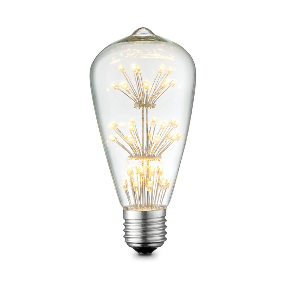 Light depot LED lamp Drop Crystal E27 1,5W helder Outlet