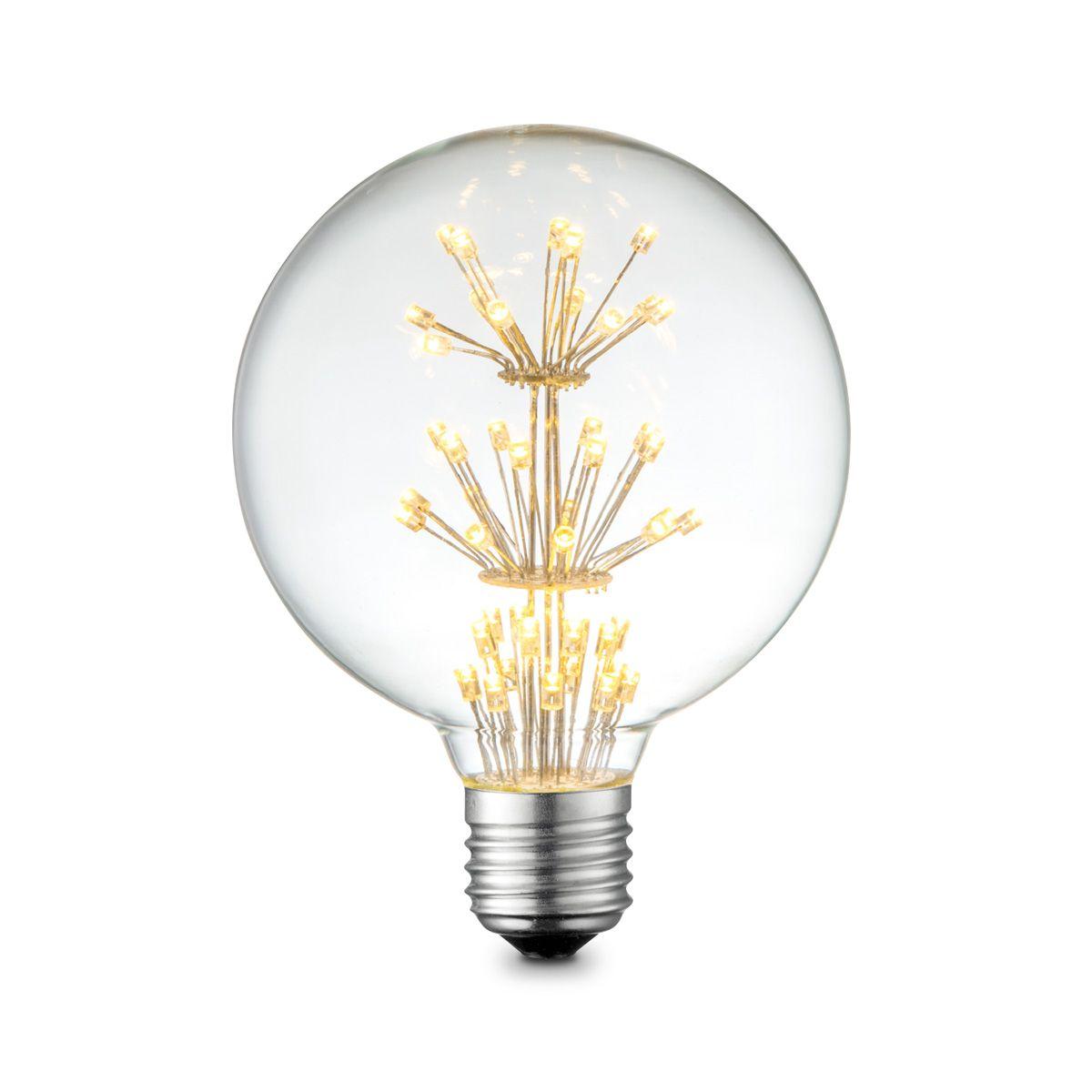 Light depot LED lamp Globe Crystal E27 1,5W 2300K helder Outlet